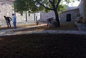 Κήπος στα Τριπόταμα Αχαΐας